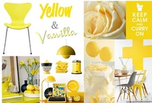 Yellow & Vanilla   / by Purodeco Feng Shui Interior Design