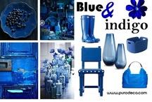 Blue & Indigo  / by Purodeco Feng Shui Interior Design