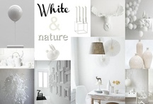 White & Nature  / by Purodeco Feng Shui Interior Design