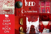 Red & Carmine  / by Purodeco Feng Shui Interior Design