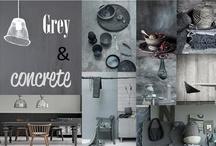 Grey & Concrete   / by Purodeco Feng Shui Interior Design