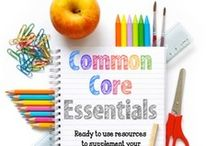 Common Core Standards / by Miss Kindergarten