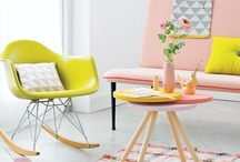 Pastel color love  / Pastel color inspiration / by Purodeco Feng Shui Interior Design