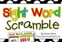 Sight Word Practice / by Miss Kindergarten