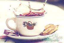 Time for Tea / We love a good cuppa - in the morning, in the afternoon, after dinner, with cake, without cake...