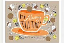 Tea Quotes / When your day seems topsy turvy and as stormy as can be, there's nothing quite as tranquil as a nice hot cup of tea.