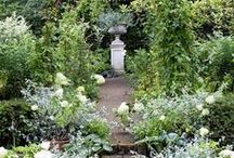 Garden Design and Inspiration / Everyone needs a little inspiration from time to time. Find new ideas here for garden art, decor, styles, pathways, beds and borders.