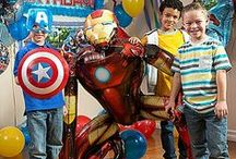 Avengers Party Ideas / Avengers, assemble! Party people, too! Save the day as Super Mom with these amazing Avengers party ideas! Check out the board for Avengers party ideas from favors to games, and everything in between like a Captain America cake, heroic decorations and costume suggestions.  / by Party City