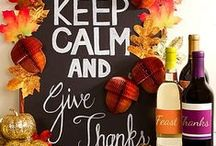 Thanksgiving Party Ideas / We've got plenty of Turkey Day treats, decorating ideas, and activities to get the whole family involved this Thanksgiving! Just click the pics for all the Thanksgiving crafts, recipes, how-to's and details. / by Party City
