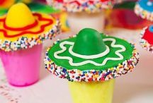 Fiesta & Cinco de Mayo Party Ideas / ¡Ole! Browse our board for fun Cinco de Mayo party ideas like DIY centerpieces, muy delicioso desserts, caliente costumes and more that will be the perfecto finishing touches for your Mexican fiesta!