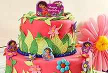 Dora Party Ideas / Come on, vamanos! Everybody let's go on an amazing Dora the Explorer birthday party adventure! Dora fans will love these creative Dora party ideas, from favors to decorating inspiration, Dora cakes and cupcakes, and a-Dora-ble wearables. And you'll love how easy they are to put together!  / by Party City