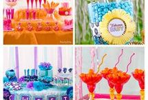 Candy Buffet Ideas / Throw a share-worthy bash like a party planner with trendy candy buffet ideas! You've seen them at weddings ... now create your own for a baby shower or bridal shower, girls' night IN or big-0 birthday. Get inspired by fab ideas for designing your candy table with DIY details, custom labels, supercute favors and devine decorations. Captivating candy buffet = unforgettable event! / by Party City