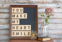 Signs / Every home needs a few custom signs! / by diy beautify