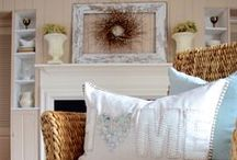 Beautiful Living Spaces / Comfy rooms for living