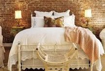 Serene Bedrooms / I think you sleep better in a beautiful room!