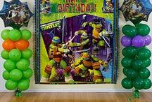 Teenage Mutant Ninja Turtles Party Ideas / Throw a shell-shocking, totally rad Teenage Mutant Ninja Turtles party for your birthday ninja! From TMNT cake ideas to awesome party favors, decorations and everything in between, these party ideas will make you the party master!  / by Party City