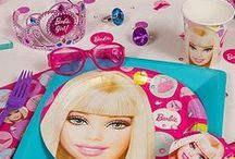 Barbie Party Ideas / Celebrate your little stylista's big day with the Barbie Dreamhouse party she and her BFF's will love! Create a pink-tastic setting with Barbie decorations, games, table décor, favors, plus much more!  / by Party City