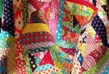 Patchwork and quilting / quilting, material, patchwork