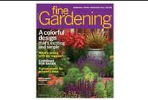NEW October Issue #159 / Now on Newsstands! / by Fine Gardening Magazine