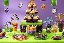 Friendly Halloween Sweets & Treats Ideas / We've got a menu of ghastly good tips from our friends at Wilton® to create a smorgasbord of boo-tiful Halloween sweets! These too-cute treats are inspired by All Hallows Eve critters like owls, mummies, pumpkins and witches! / by Party City