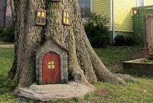 Miniature / Minyatür evler, bahçeler,eşyalar