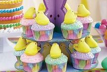 Easter Sweets, Treats & PEEPS Ideas / Celebrate Spring and Easter with tables full of sweets! Thanks to our friends at Wilton, we put together great ideas for your Easter get-together. From bunny cake pops, brownies, and cupcakes to peeps-inspired cakes and crispy rice treats, you'll find inspiration for the whole Spring season!