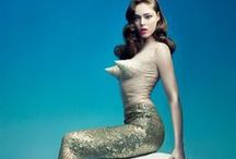 """Mermaid Instincts / """"I must be a mermaid, Rango. I have no fear of depths and a great fear of shallow living.""""  ― Anaïs Nin"""