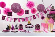 Birthday Party Ideas for Her / Cute and creative birthday party ideas for her! / by Party City