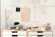 work space / ideas for the space my creative space >> where the magic happens
