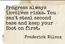 Quotes / by Mackenzie Hawk