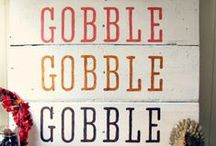 gobble gobble / Thanksgiving recipes and ideas