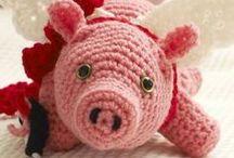 crochet dolls, toys, etc / by Marcia Myers-Knoles