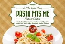 Pasta Fits Me / Create your own board (like this one) and show us how you fit pasta into your healthy, active lifestyle. You could win $1,500! #pastafitsme  This contest is now over. For our latest promotions, visit http://pastafits.org/news-room/pastafitscontest/.