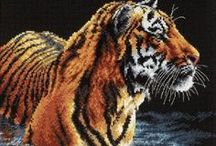 cross stitch animals / by Marcia Myers-Knoles