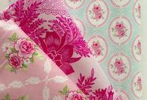 Fabulous Fabrics  / Fabrics and colours I love / by Carla Doyle