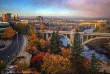 "SPOKANE, WASHINGTON STATE....WELL HELL THE WHOLE NORTHWEST IS AWESOME / I LOVE SPOKANE..IT IS WHERE ALL MY FAMILY IS.  I MISS THE WHOLE NORTHWEST.  I MISS THE FOUR SEASONS AND THE CLEAN AIR.  (LETS ALL SING NOW....""OH LORD, I WANNA GO HOME"" / by She Said   oOO_(';')_OOo"