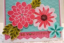 Stampin Up cards / by Terry Ross