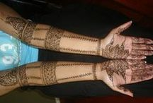 Beautiful Full Hands & Feet Mehndi Designs / by Amber Angel