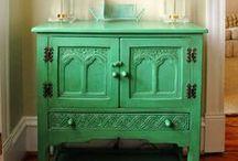 furniture makeover / by Linda Carl