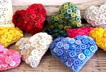 DIY textiel & fournituren / DIY ideeën: te maken met textiel, fournituren, ect...