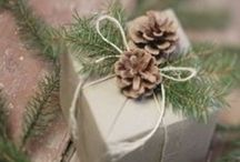 ~ All wrapped up ~ / Celebrating the art of good gift-wrapping { #gifts #presents #wrapping #giftwrap }