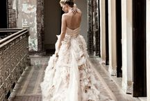 wedding dresses / Secret love for wedding dresses.