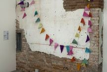 ~ Bunting fest ~ / Celebration garlands, bunting & festoonery! { #bunting #garlands #party #festooned }