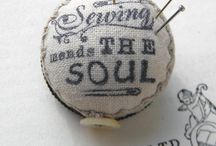 ~ Stitched ~ / For the love of sewing { #sewing #stitchery #stitching #sewn }