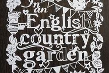 ~ English country garden ~ / In an English Country Garden {#countrygardens #gardens #gardening #englishcountrygarden #flowers #cottagegarden }