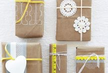 DIY cadeautjes inpakken/giftwrapping