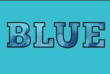 Blue / All shades of blue for design and colour inspiration