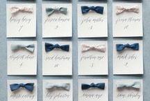 Escort card|エスコートカード / 結婚式エスコートカードアイデア