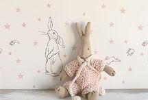 ~ Littlies / bunny love ~ / #nurserydecor #children #babies #kids #rabbits #bunny #bunnies #childrenstoys #toddlers #parenting