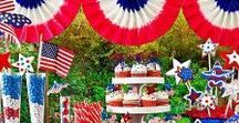 4th of July Hosting + Recipes / A collection of recipes, hosting ideas, and DIY projects to help out with that July Fourth gathering you're planning!